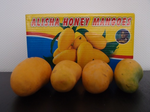 Sweet and delicious honey mangoes from Pakistan