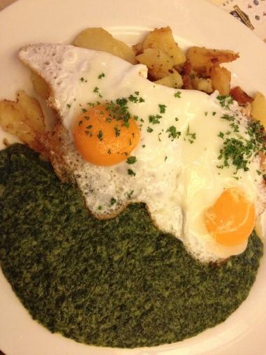 German spinach