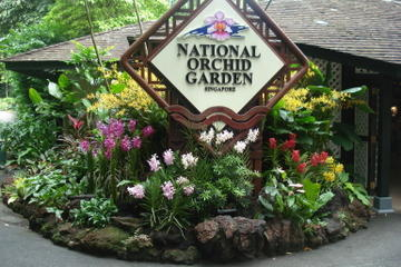 Entrance to National Orchid Garden