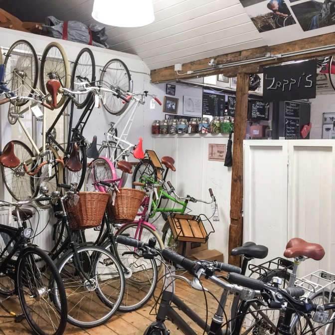 Zappi's Bike Cafe, Oxford