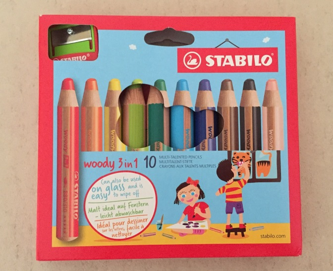 Stabilo Woody 3in1 Colour Pencils Review
