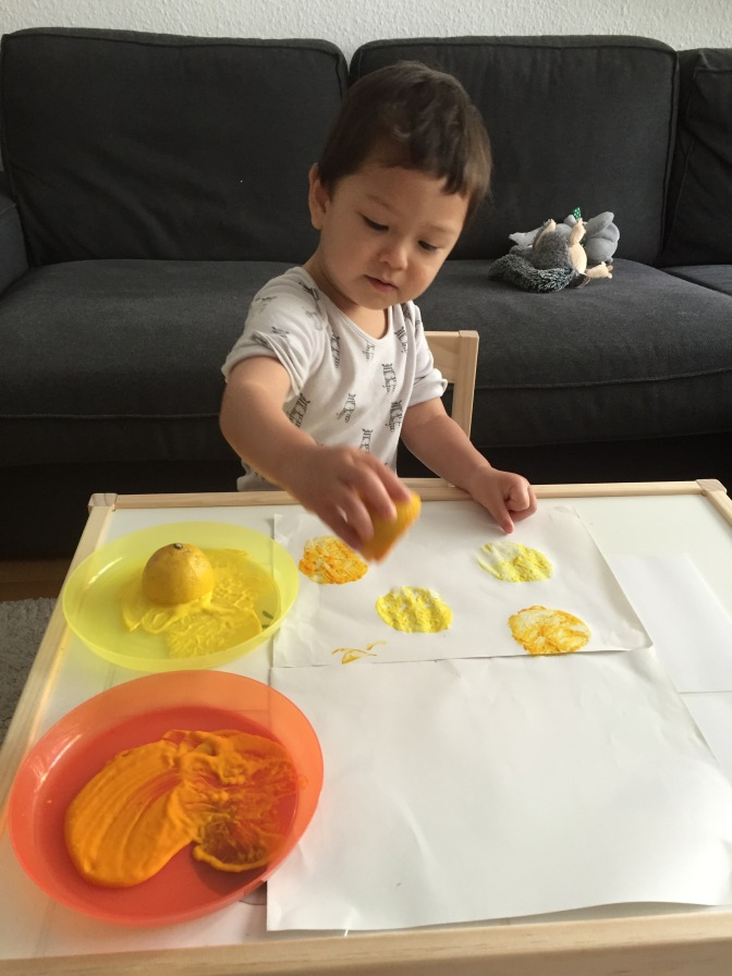 Painting with Lemons
